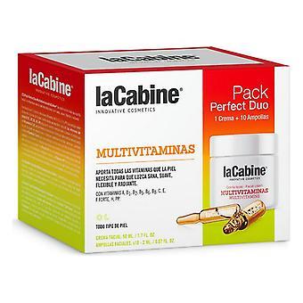 Women's Cosmetics Set Perfect Duo Multivitaminas laCabine (2 pcs)