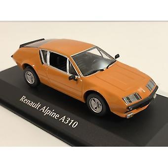 Maxichamps 940113591 Renault Alpine A310 1976 Orange 1:43 Scale
