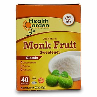 Health Garden Monk Fruit Classic, 40 Packets