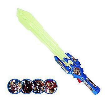 Laser Sword 4 Mask Music Electric Flashing Sword Weapon(Stlye3)