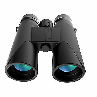 Lornetka, 12X42 HD Telescope, BAK4 Prism FMC W pełni wielowarstwowe soczewki, do podróży, obserwacji ptaków, koncertów, turystyki pieszej, campingu(czarny)