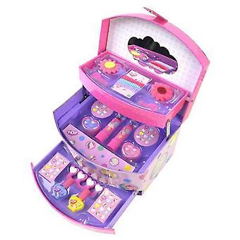 Children's Make-up Set Pop Girl Briefcase Pink
