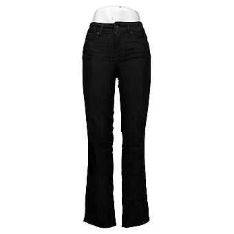 NYDJ Kvinners Jeans Marilyn Rett Løft Skyll Svart A395683