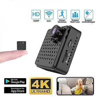 Мини Wi-Fi камера 1080p Hd Мини Wifi Камера наблюдения Ночного видения Обнаружение движения