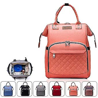 Oxford Cloth Large Capacity Baby Backpack(Orange)