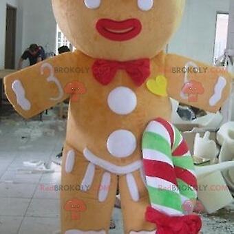 Mascote REDBROKOLY.COM de Ti Biscuit, famoso personagem de Shrek
