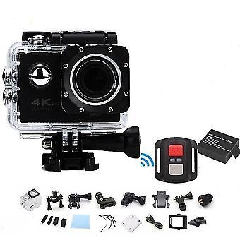 Ammatillinen vedenpitävä Urheilu Toiminta Telecomando Camera-4k Wifi Ultra Hd