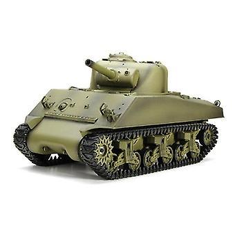 2.4Ghz RC Car 1:16 US Sherman Upgraded Crawler Zdalnie sterowany wojskowy pojazd czołgowy