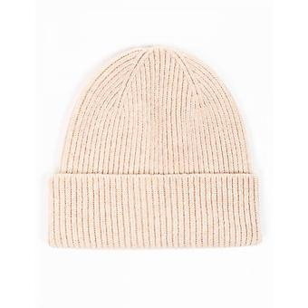 Colorful Standard Merino Wool Beanie Hat - Ivory White