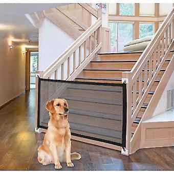 الحيوانات الأليفة سياج الكلب العزل صافي الحيوانات الأليفة المنزل سلامة السياج - 110 * 72cm