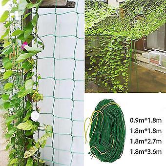 Garden Net Vine Plant Climbing Net Nylon Net 0.9x1.8m/1.8x1.8m/1.8x2.7m/1.8x3.6m For Home Garden Decor
