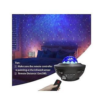 Projecteur de lumière de nuit Led Nebula Cloud avec haut-parleur de musique Bluetooth pour bébé