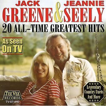 Greene/Seely - 20 All Time Greatest Hits [CD] USA import