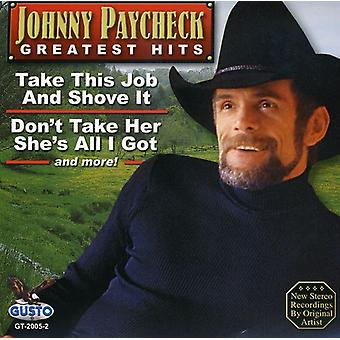 Johnny Paycheck - Greatest Hits [CD] USA import