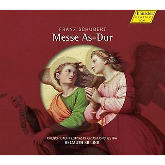 R. Schubert - Schubert: Mass in a Flat Major D 678 [CD] USA import