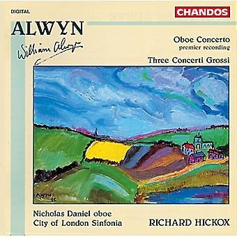 W. Alwyn - Alwyn: Oboekonsert; Tre Concerti Grossi [CD] USA import