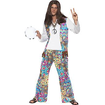 Hippy elegancki kostium top z dołączonym kamizelki, Spodnie i pałąk