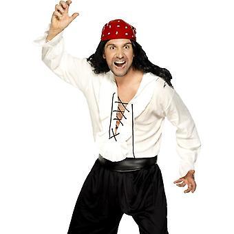 Chemise chemise pirate pirate la taille de chemise pirate Costume Pirate M