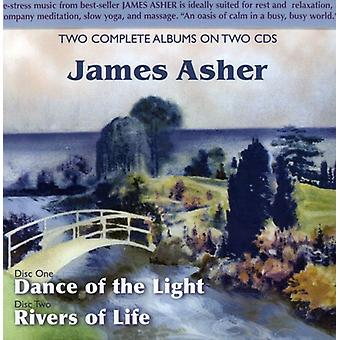 James Asher - Dance of the Light/Rivers of Life [CD] USA import