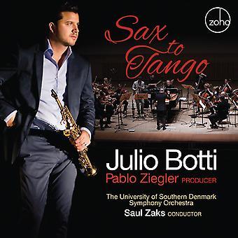 Botti, Julio / Ziegler, Pablo - Sax to Tango [CD] USA import