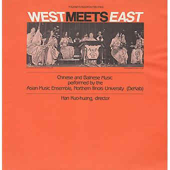 Northern Illinois University. Chinese Orchestra - West Meets East: Chinese & Balinese Music [CD] USA import