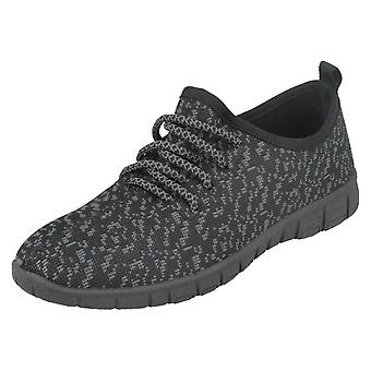 Dames Reflex Lace Up sportieve pompen F7071