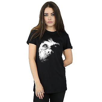 The Exorcist Women's Regan Demon Face Boyfriend Fit T-Shirt