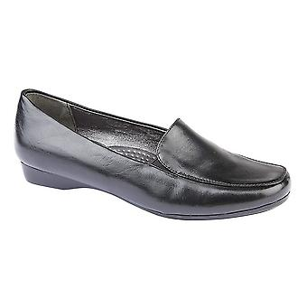 Boulevard Womens/Ladies Casual PU Twin Gusset Shoe