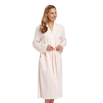 Rosch 1884140-11561 Women's Sunrise Orange Solid Colour Dressing Gown Loungewear Bath Robe