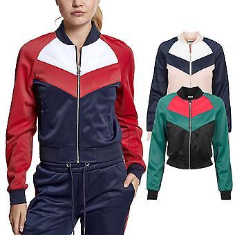 Urban classics ladies - short Raglan track jacket