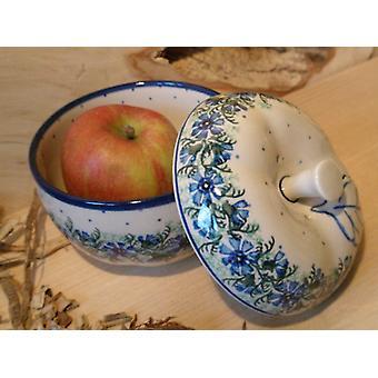 Friptură de mere, Diametru 12 cm, 12 cm înălțime, tradiție 7-Boleslawiec aardewerk-BSN 4881