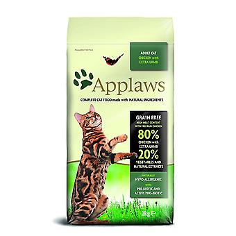 Applaws Natural Complete  Dry Cat Food Adult Chicken with Lamb, 2kg