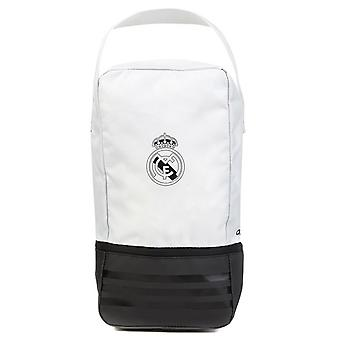 2018-2019 Real Madrid Adidas Shoe Bag (White)