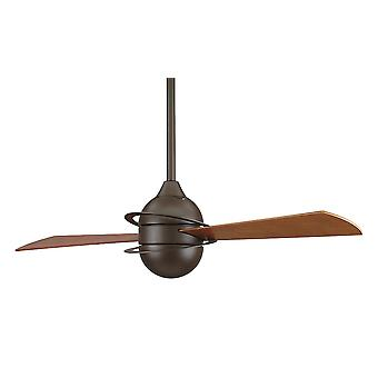 Ceiling Fan THE INVOLUTION Bronze 132cm / 52