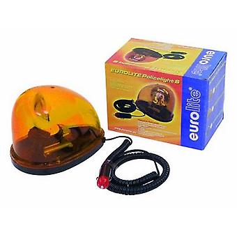 Eurolite STA-1221 HV halogen Roterende politi beacon 21 W Gul, Orange Nr. af pærer: 1