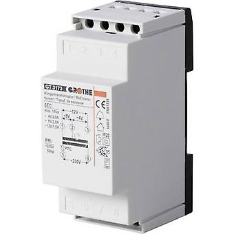Heidemann 70044 Bell transformer 4 V AC, 8 V AC, 12 V AC 2 A
