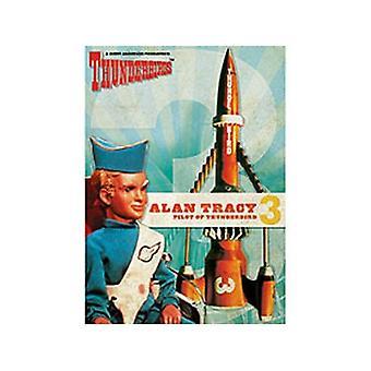 Thunderbirds Alan køleskab Magnet