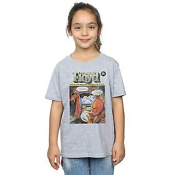 ピンク ・ フロイドの女の子不良コミック カバー t シャツ