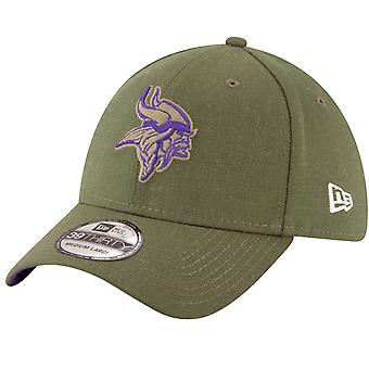 New Era 39Thirty Cap - Salute to Service Minnesota Vikings