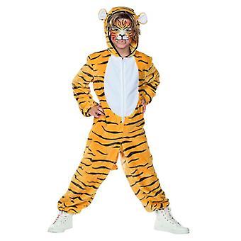 Tiger jumpsuit puku lapset unisex hellitellä puku iso kissa Tiger