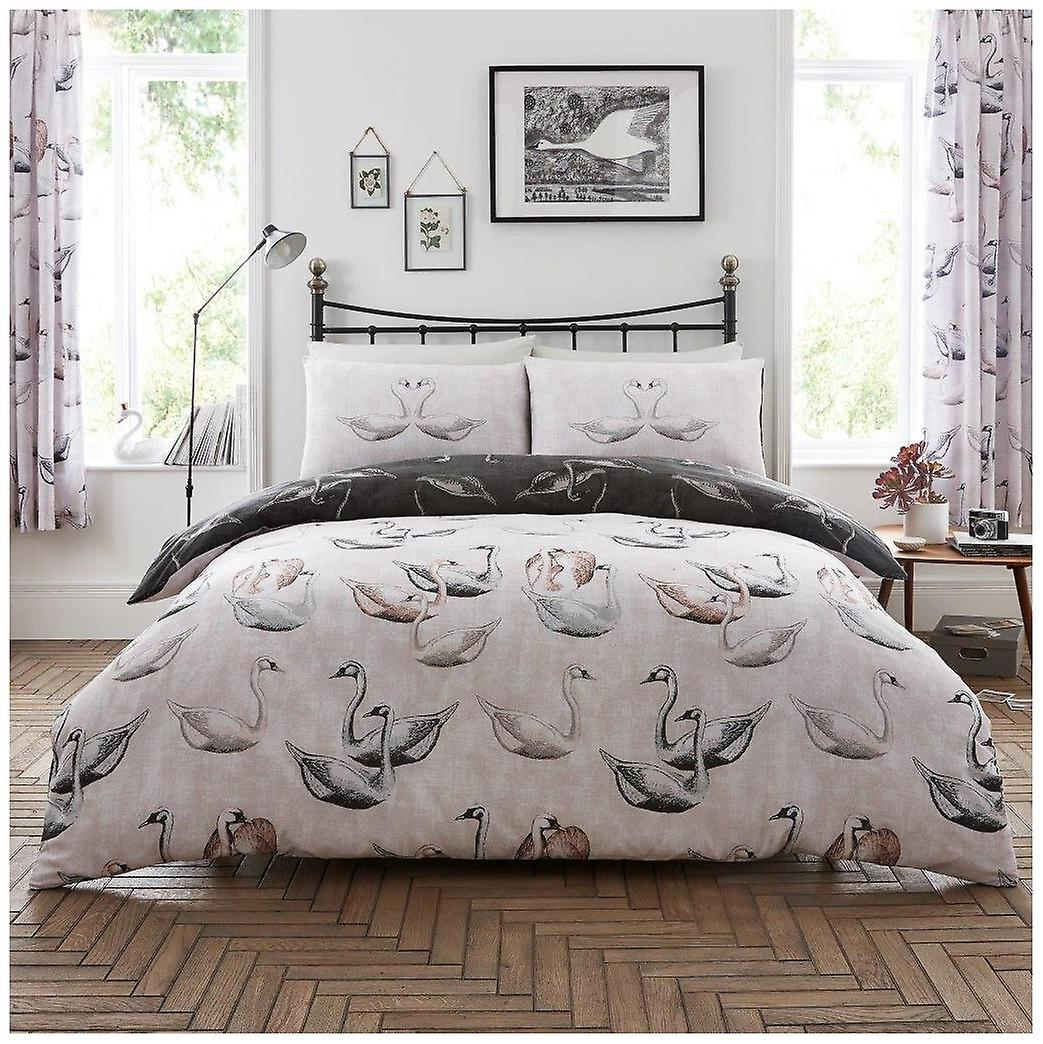 Pooh Dogs Animal Duvet Quilt Cover Polycotton Bedding Set with Pillow Case