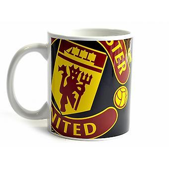Manchester United FC Halftone 0.3kg Boxed muki