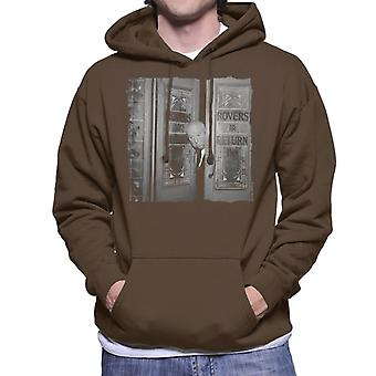 TV Times Alfred Hitchcock At The Rovers Return 1964 Men's Hooded Sweatshirt