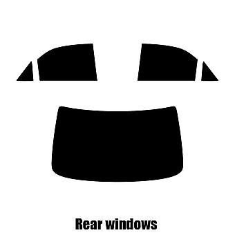 Pre cut fönstret nyans - Toyota Camry 4-dörrars sedan - 2002 till 2004 - bakre windows