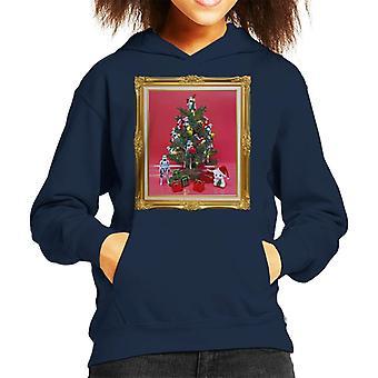 Opprinnelige Stormtrooper Christmas Tree Kid er hette Sweatshirt