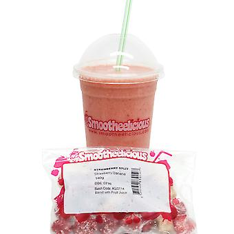 Smootheelicious Frozen Strawberry Split Smoothie Packs
