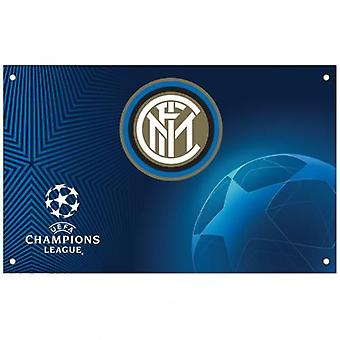Inter Milan Champions League drapeau