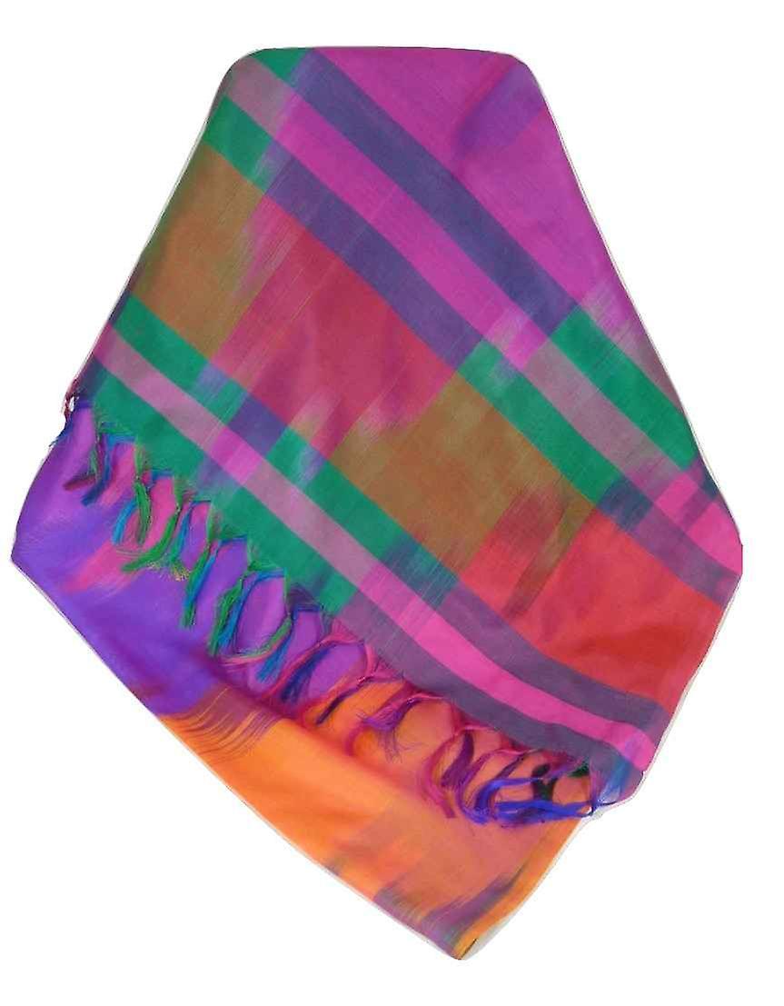 Varanasi Ekal Premium Silk Long Scarf Heritage Range Jindal 3 by Pashmina & Silk
