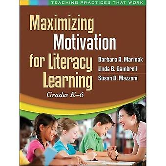 Maximaliseren van de motivatie voor het leren van de geletterdheid