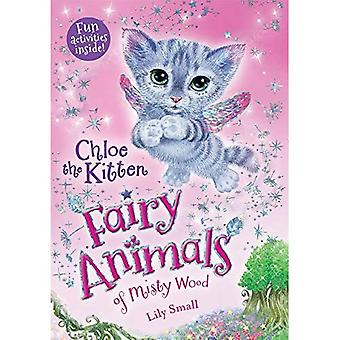 Chloe het Kitten (Fairy dieren van Misty hout)